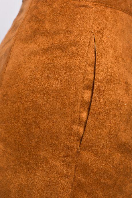 Spódnica Bohemian brązowa