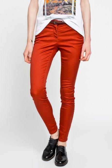 Spodnie Boho czerwone
