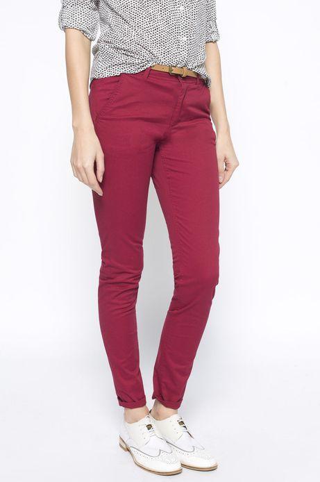 Spodnie Heritage czerwone