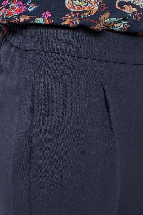 Spodnie Heritage granatowe