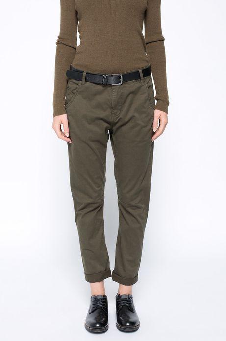 Spodnie Bohemian zielone
