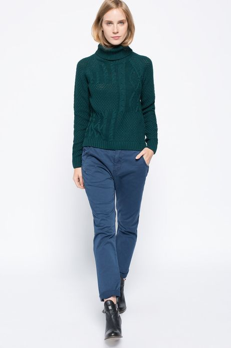 Spodnie Bohemian niebieskie