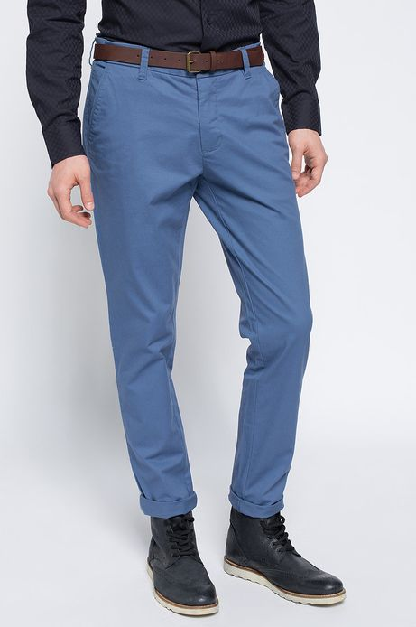 Spodnie Work In Progress niebieskie