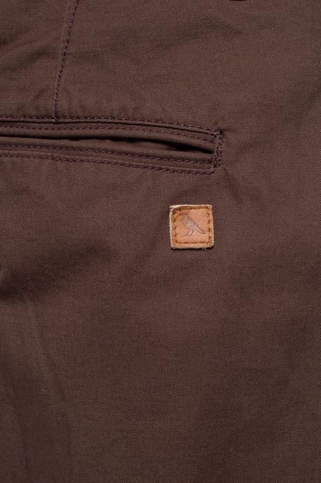 Spodnie Heritage brązowe