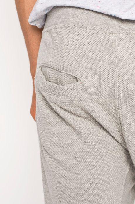 Spodnie Boho szare