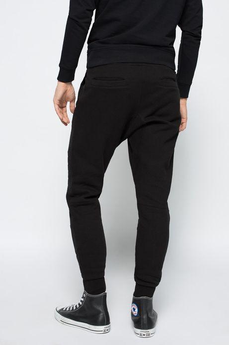 Spodnie Bohemian czarne