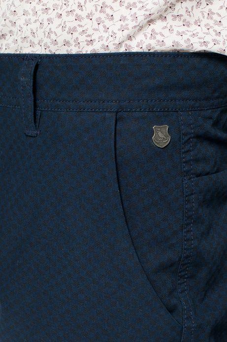 Spodnie Bohemian granatowe