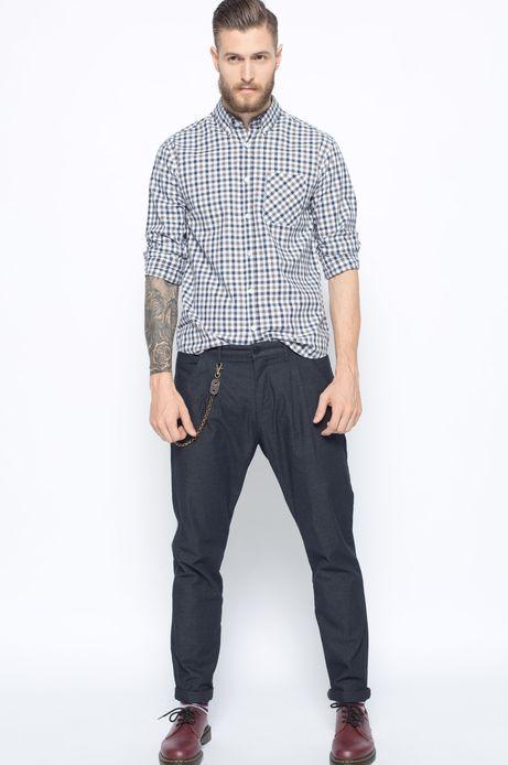 Spodnie Bohemian szare