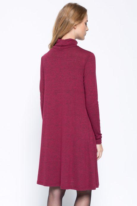 Sukienka Bohemian czerwona