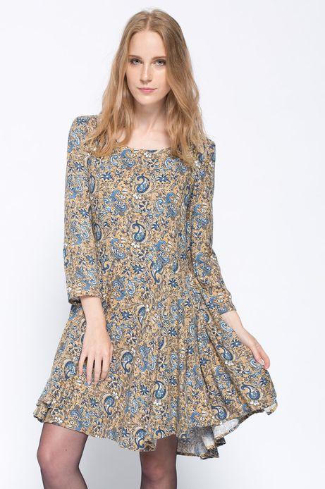 Sukienka Bohemian zielona