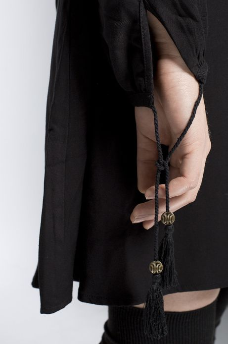 Sukienka Bohemian czarna