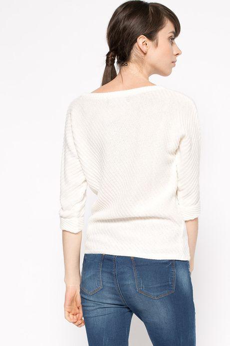 Sweter Work In Progress biały