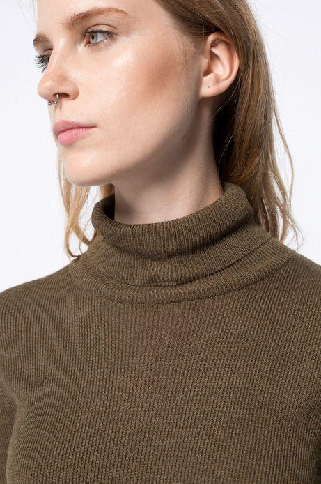 Sweter Bohemian zielony