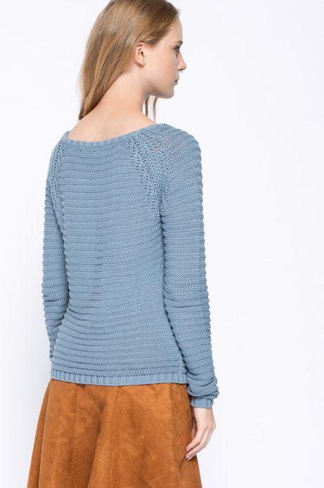 Sweter Bohemian niebieski