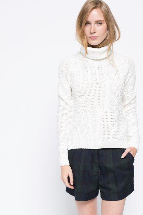 Sweter Heritage kremowy