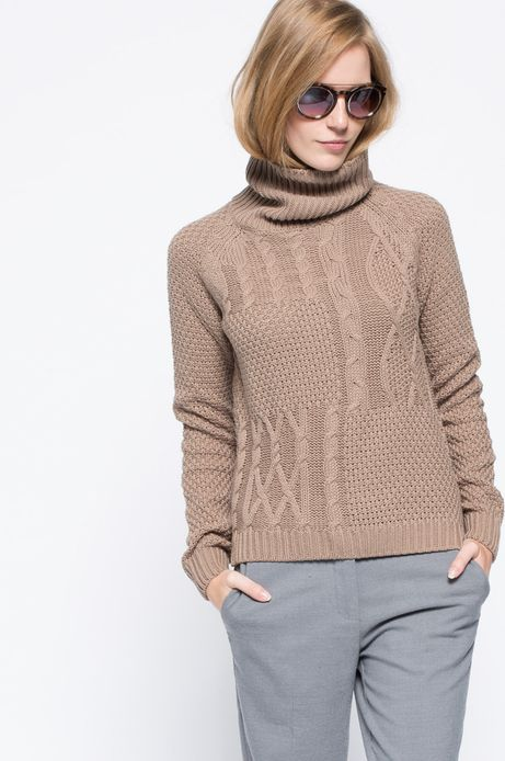 Sweter Heritage beżowy