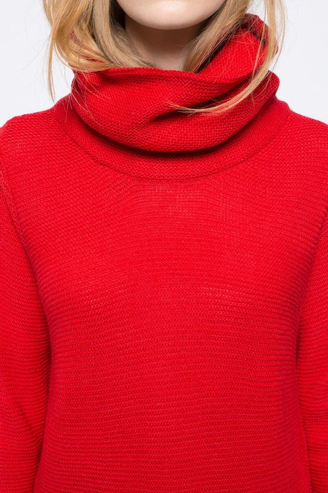 Sweter Heritage czerwony