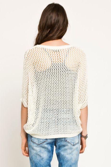 Sweter Boho biały