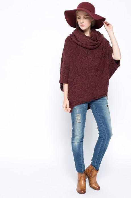 Sweter Bohemian brązowy