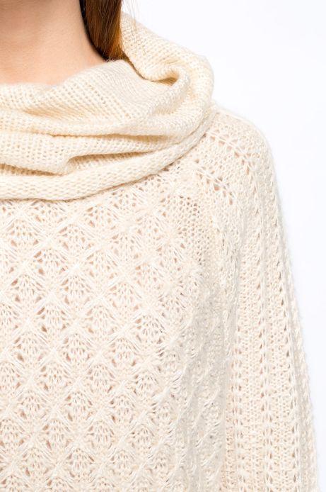 Sweter Bohemian kremowy