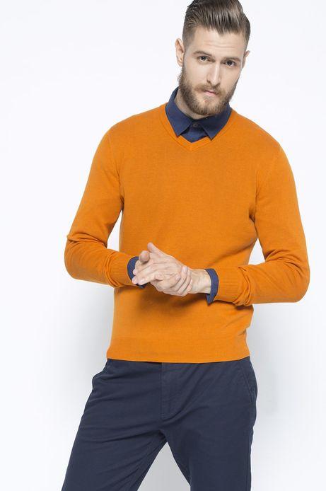 Sweter Work In Progress pomarańczowy