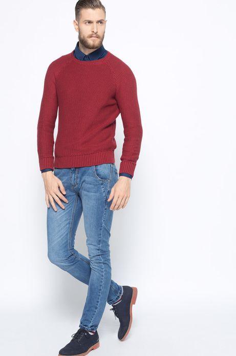 Sweter Bohemian różowy