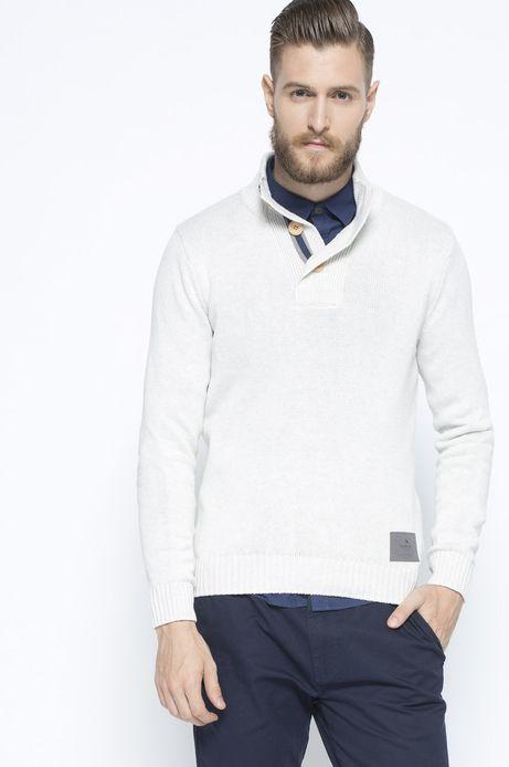 Sweter Bohemian transparentny