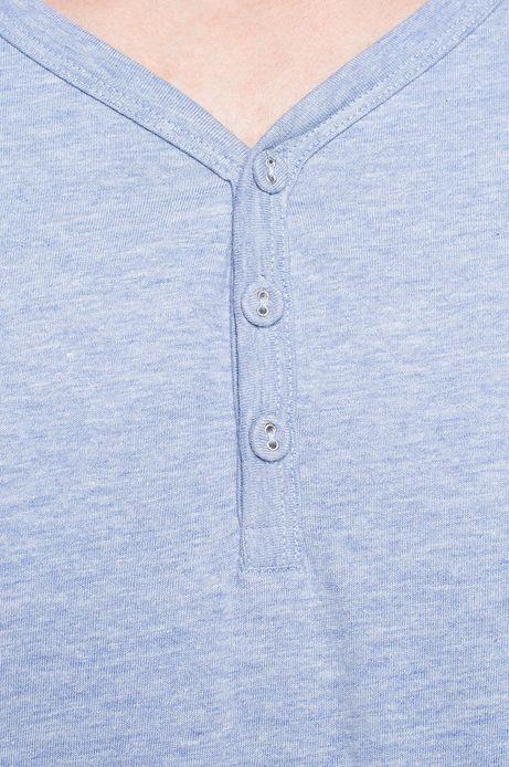 T-shirt Work In Progress niebieski