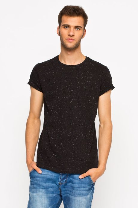 T-shirt Heritage czarny