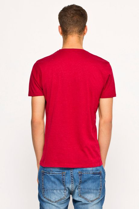 T-shirt Heritage różowy
