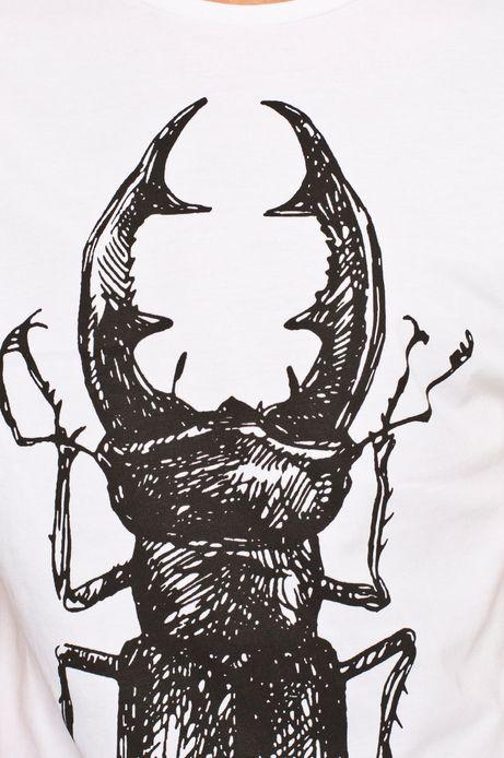 T-shirt Heritage kremowy