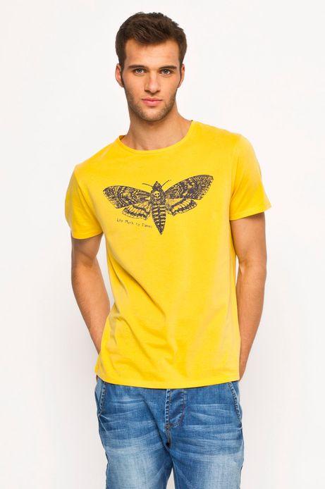 T-shirt Heritage żółty