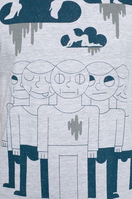T-shirt Patryk Mogilnicki for Medicine szary