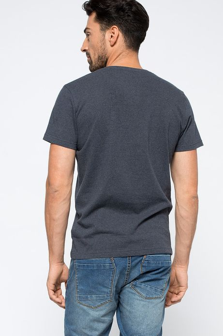 T-shirt Heritage granatowy