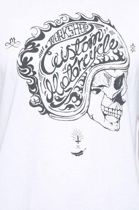 T-shirt Heritage biały
