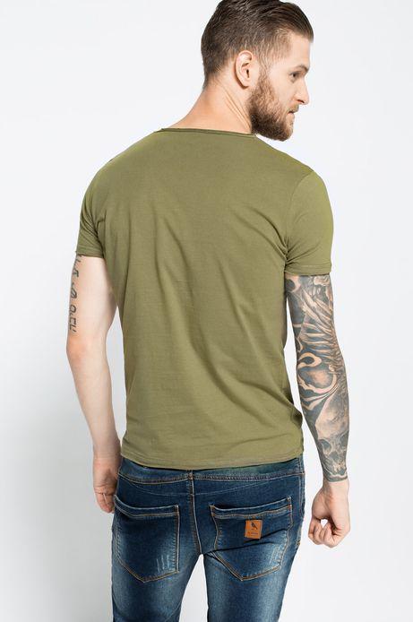 T-shirt Bohemian zielony