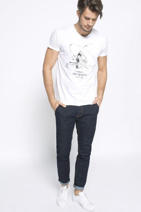T-shirt Bohemian biały
