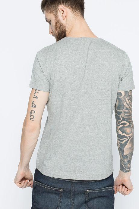 T-shirt Bohemian szary