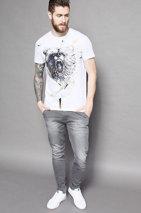 T-shirt Grafika Polska biały
