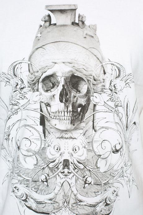 T-shirt Mythology biały