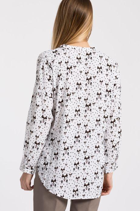 Koszula Xmas biała
