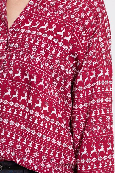 Koszula Xmas czerwona