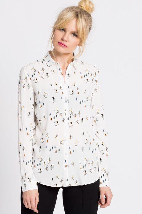 Koszula Xmas kremowa
