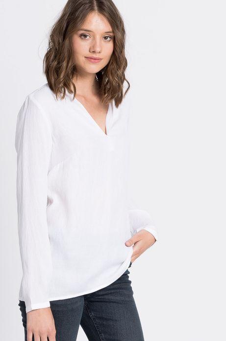 Koszula Jaquard biała