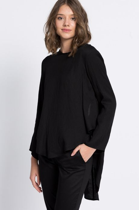 Bluzka Jaquard czarna