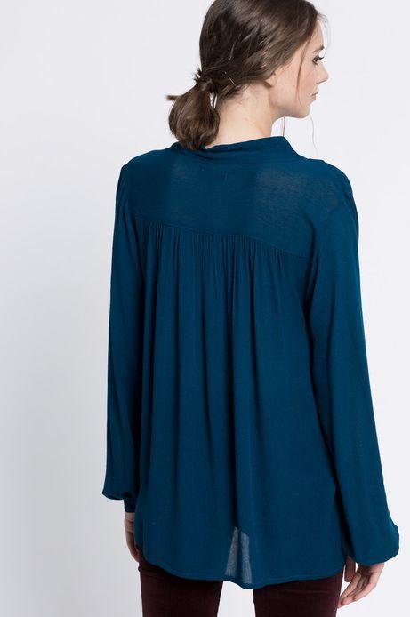 Bluzka Modern Retro turkusowa