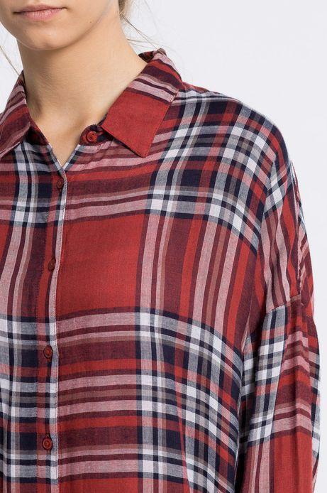 Koszula inverness czerwona