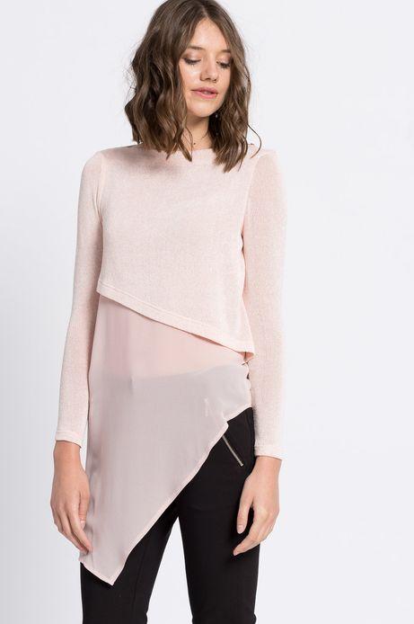 Bluzka City różowa