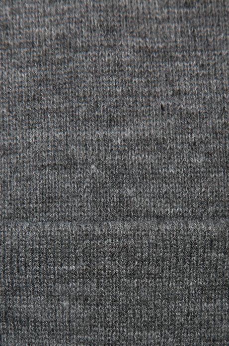 Czapka Inverness szara