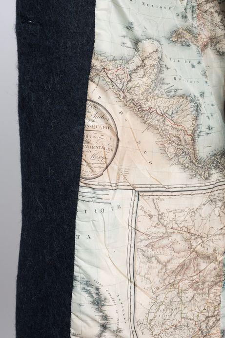 Płaszcz Inverness zielony